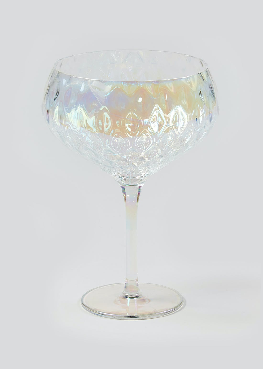 Hammered Coupe Glass (18cm x 12cm)