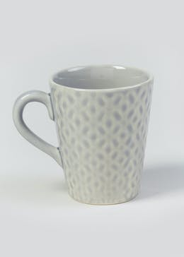 Earthenware Geometric Mug (11cm x 8cm)