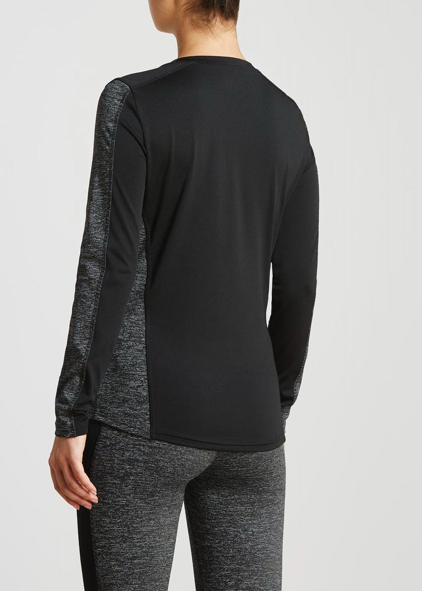 Souluxe Panel Sports Top