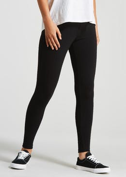 better price for highly coveted range of a great variety of models Womens Leggings - Printed & Cropped Black Leggings – Matalan