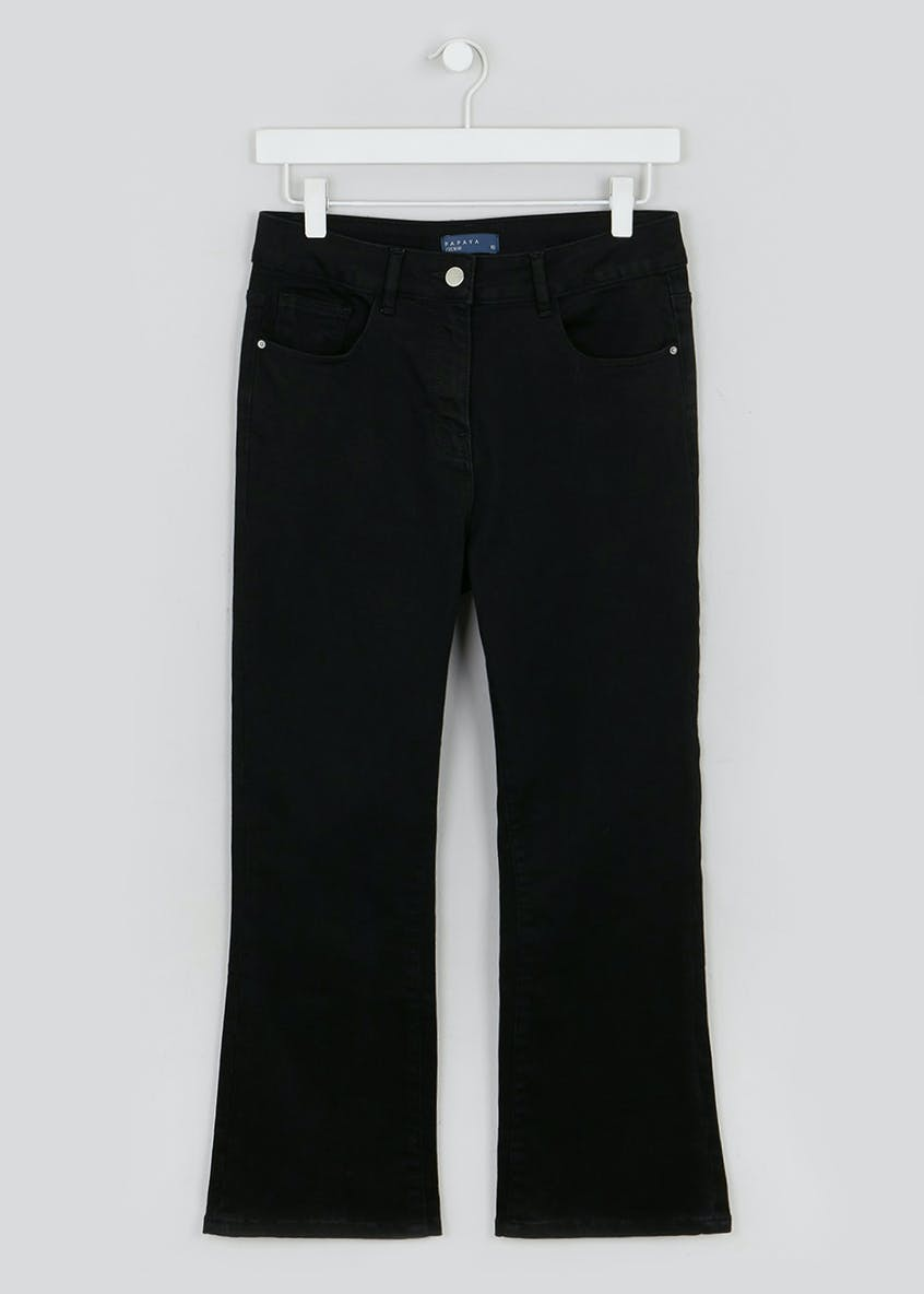 Sophia Cropped Straight Jeans
