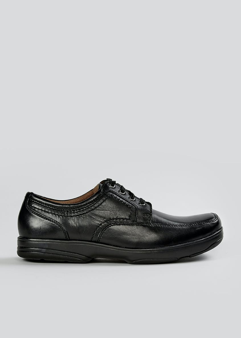 Soleflex Real Leather Formal Lace Up Shoes