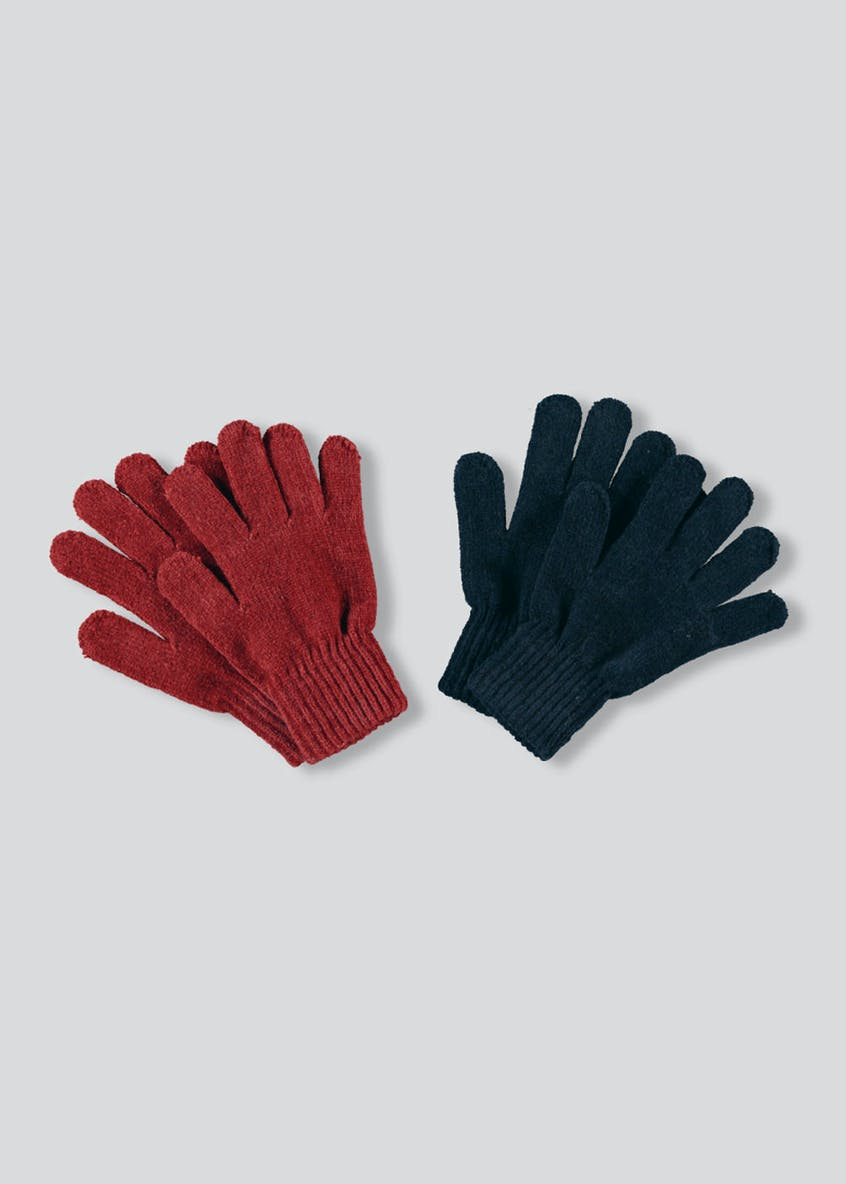 2 Pack Chenille Gloves