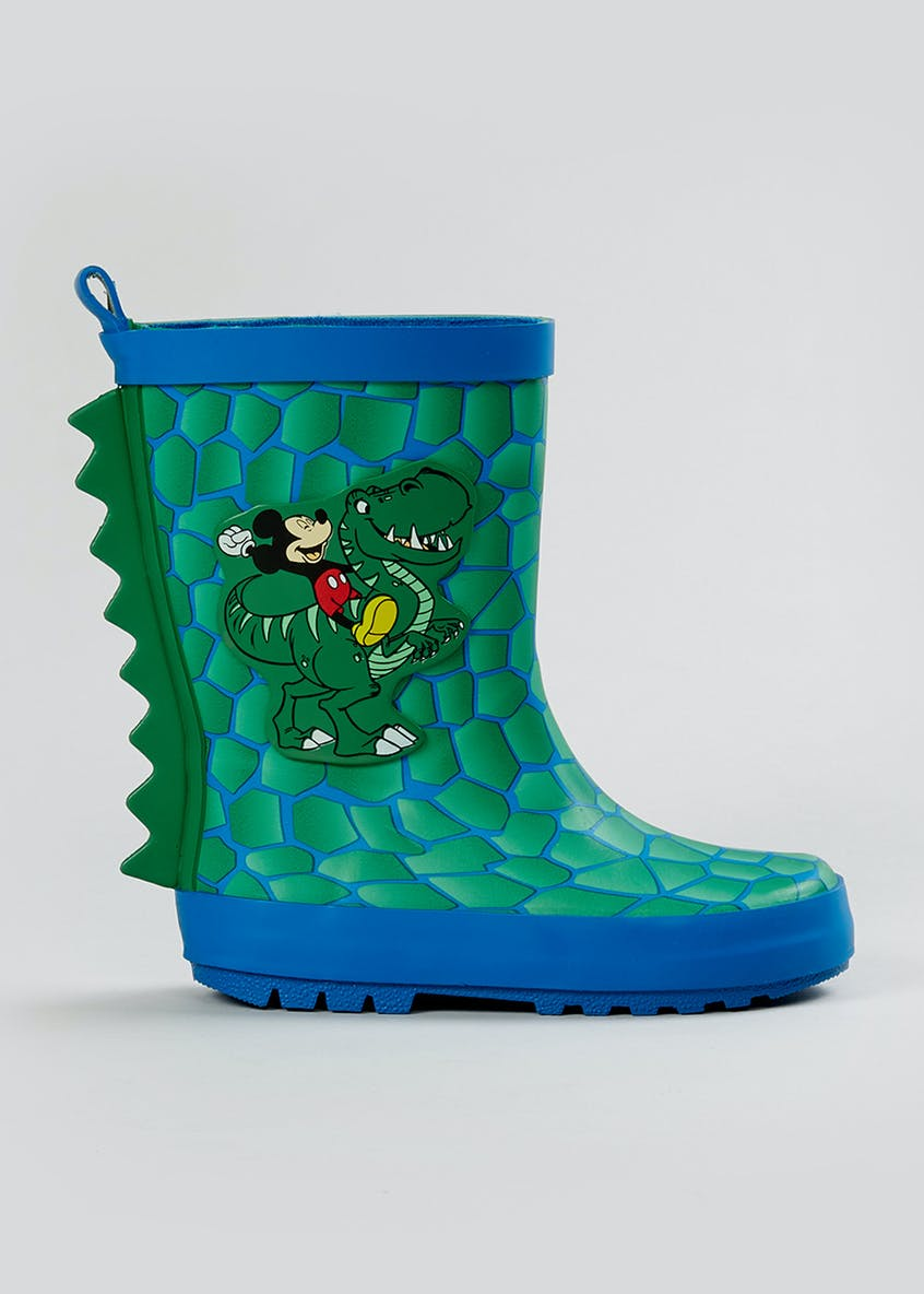 Kids Disney Mickey Mouse Wellies (Younger 4-9)