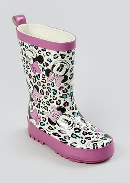 Kids Disney Minnie Mouse Wellies (Younger 4-9)