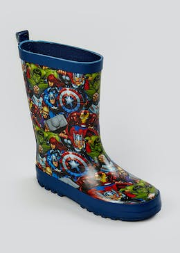 Kids Marvel Avengers Wellies (Younger 6-Older 2)