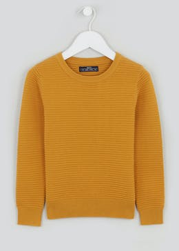 Boys Crew Neck Ribbed Jumper (4-10yrs)