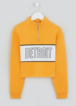 Girls Candy Couture Zip Up Sweat (9-16yrs)