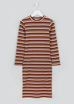 Girls Candy Couture Stripe Midi Dress (9-16yrs)