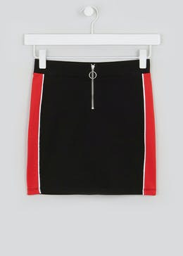 Girls Candy Couture Side Stripe Skirt (9-16yrs)