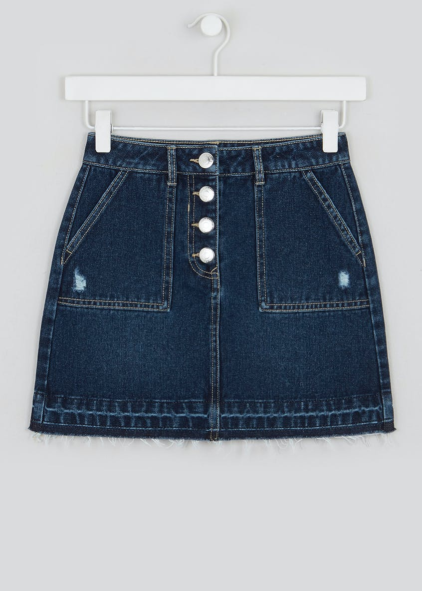 Candy Couture Denim Skirt (9-16yrs)