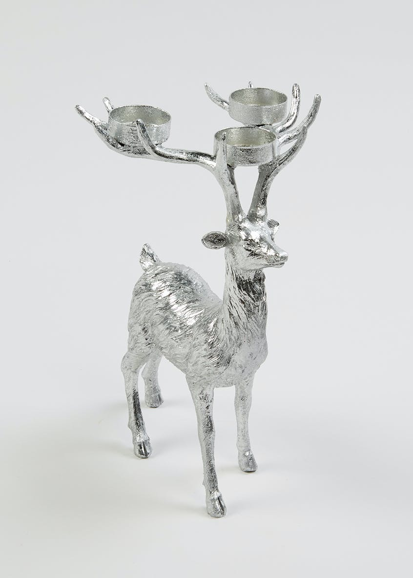 Stag Tea Light Holder (28cm x 18cm x 16cm)