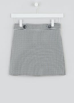 Girls Candy Couture Dogtooth Skirt (9-16yrs)
