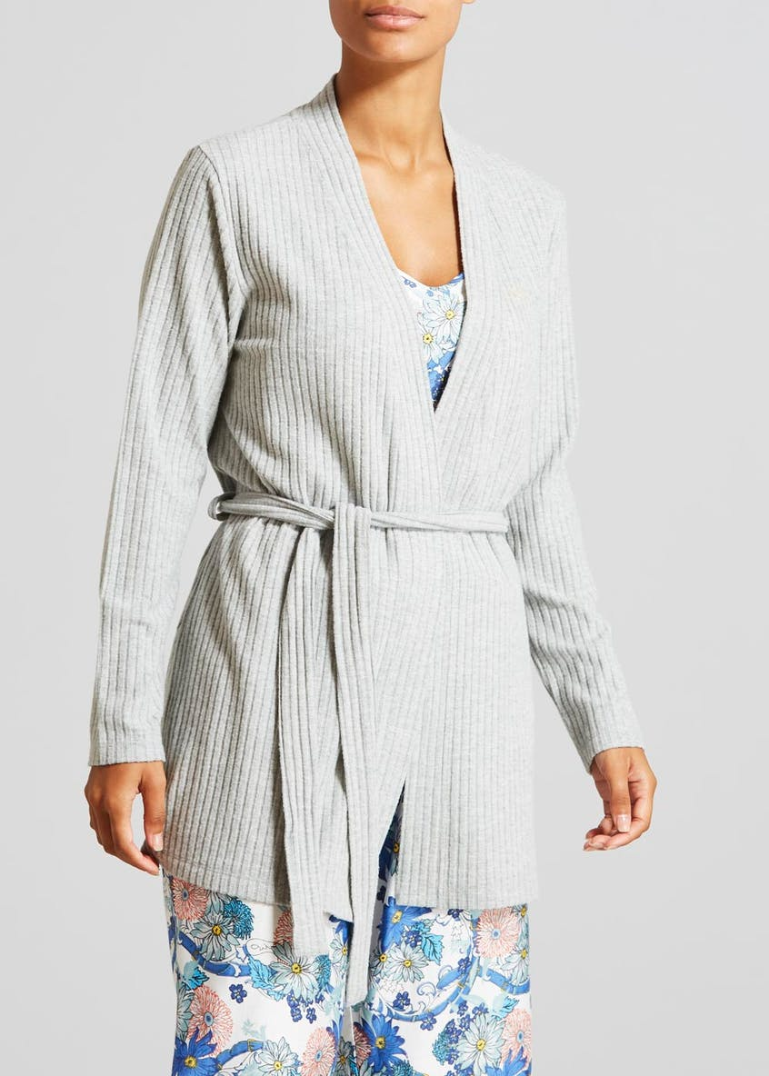 Snit Ribbed Lounge Cardigan