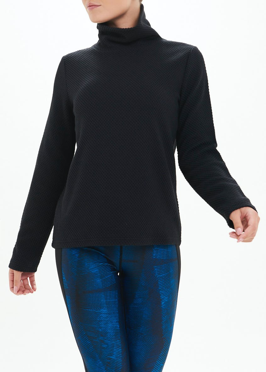 Souluxe Cowl Neck Fleece
