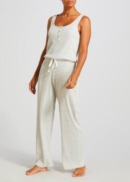 Stripe Lounge Jumpsuit