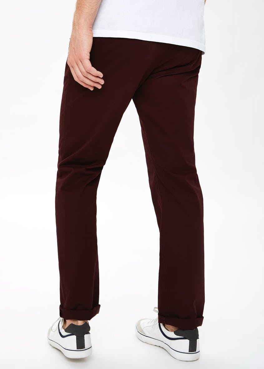 Big & Tall Straight Fit Chino Trousers