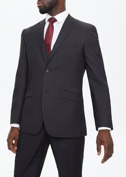Glenridding Regular Fit Check Suit Jacket