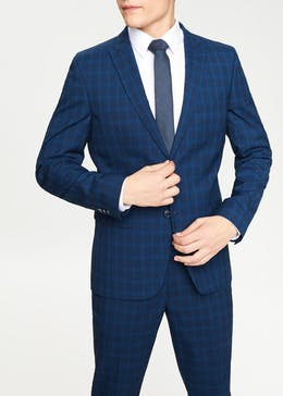 Kendal Slim Fit Check Suit Jacket