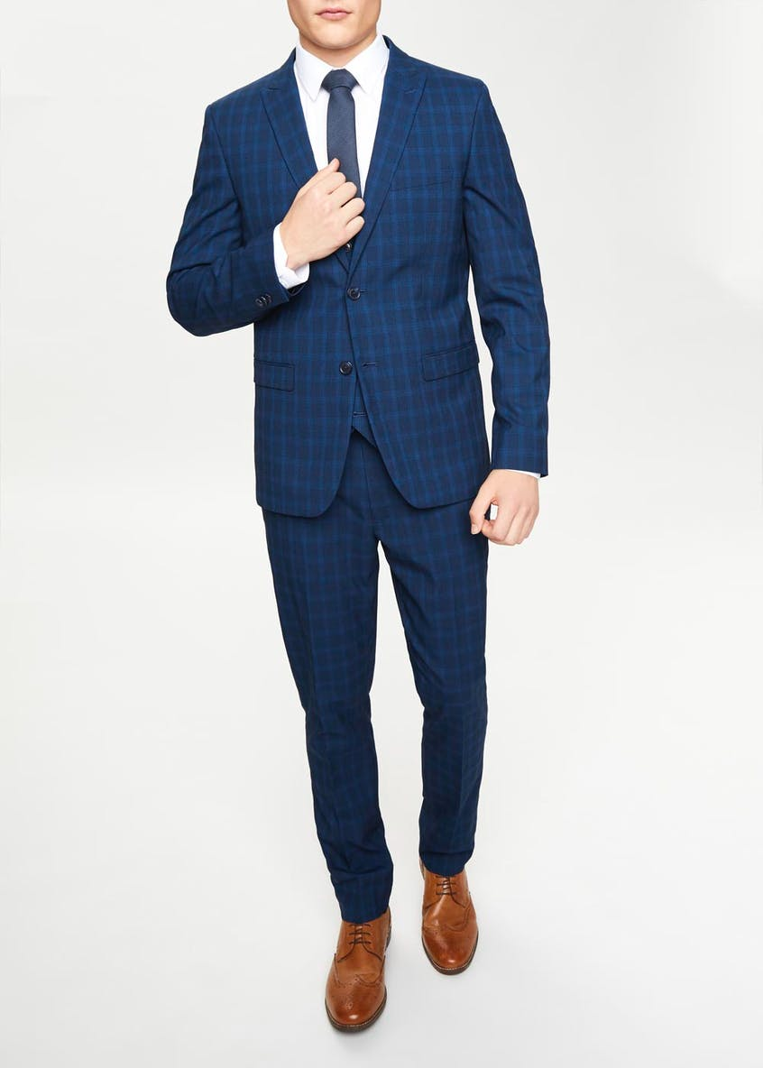 Taylor & Wright Kendal Slim Fit Check Suit Jacket
