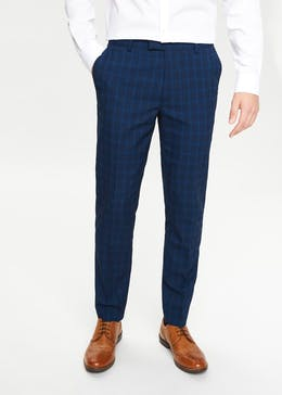 Kendal Slim Fit Check Trousers