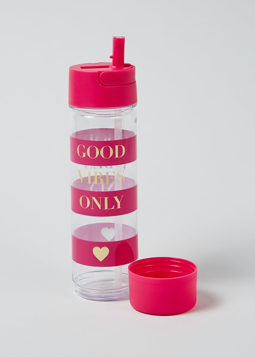 Good Vibes Only Water Bottle (27cm x 7cm)