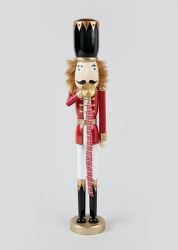 Guard Nutcracker Christmas Decoration (60cm x 16cm)