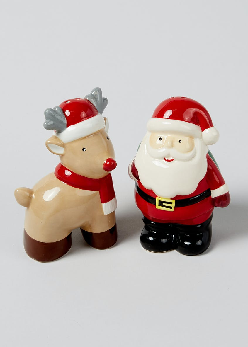 Novelty Christmas Salt and Pepper Shakers