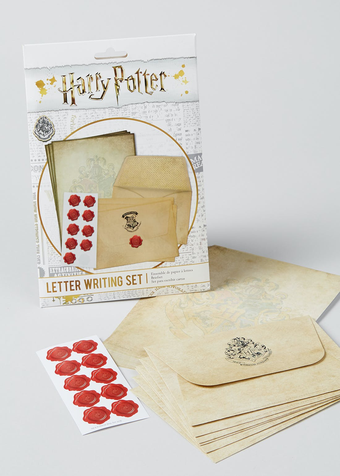 Harry Potter Letter Writing Set (24cm x 16cm)