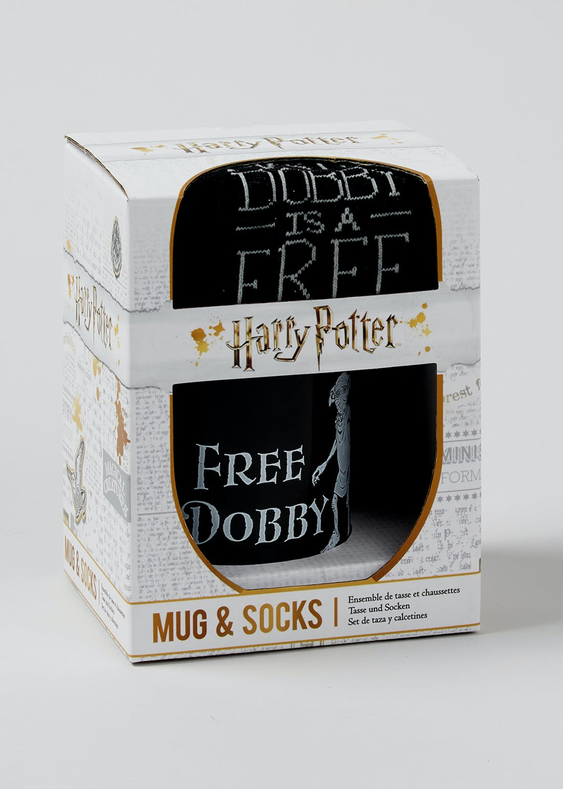 Harry Potter Dobby Mug & Socks Set (16cm x 12cm x 10cm)