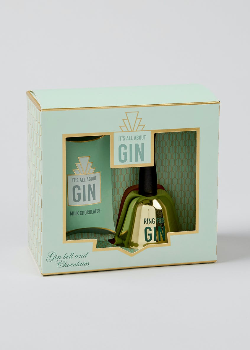 Ring for Gin Bell & Chocolate Set (15cm x 14cm x 8cm)