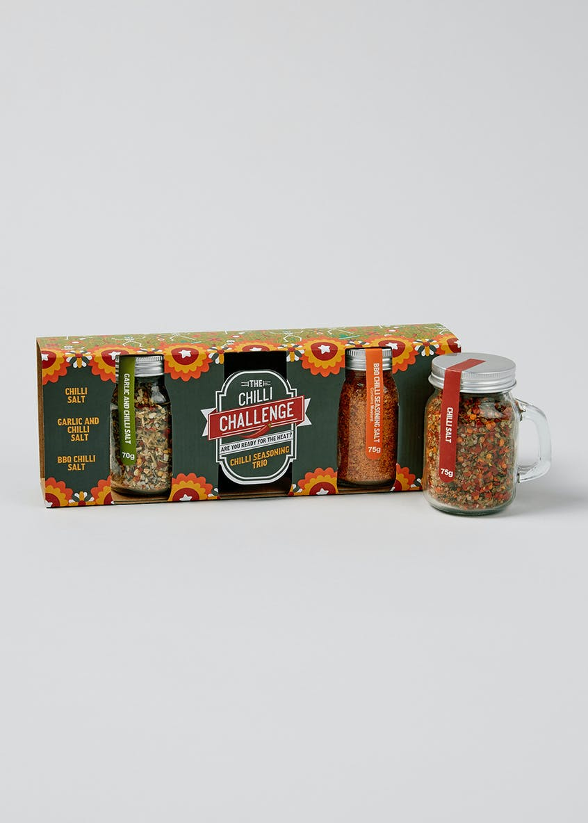 3 Pack Chilli Seasonings (24cm x 9cm x 5cm)