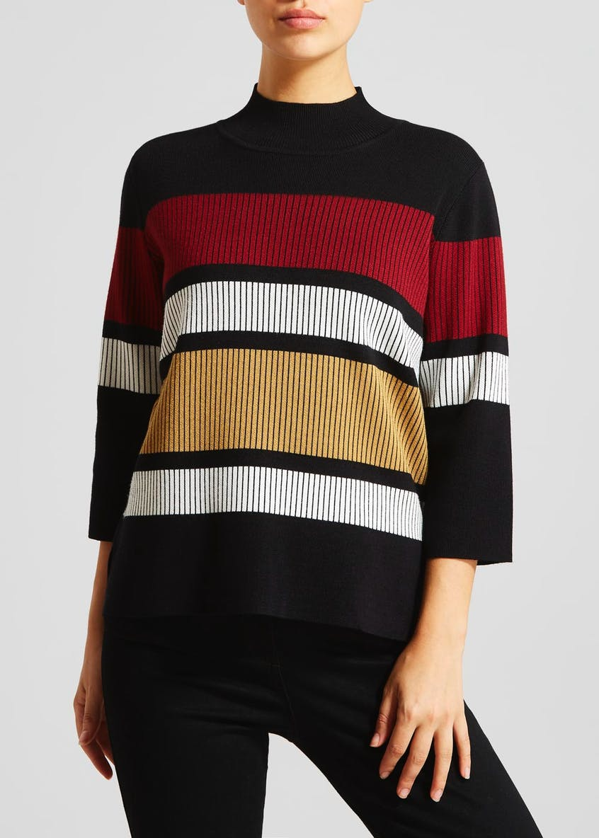 High Neck Swing Jumper