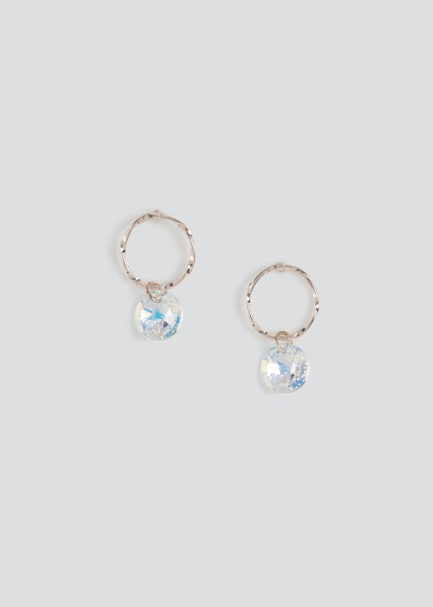 Swarovski Hoop Earrings