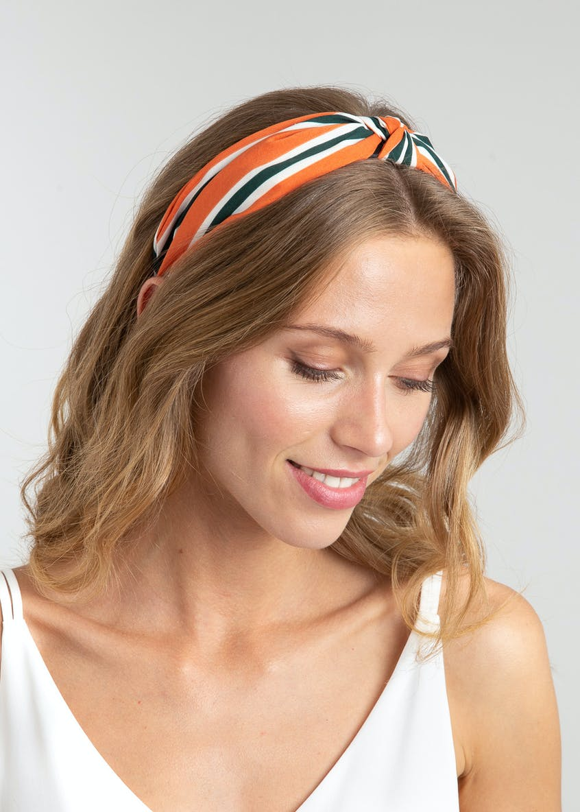 Stripe Knot Head Band.