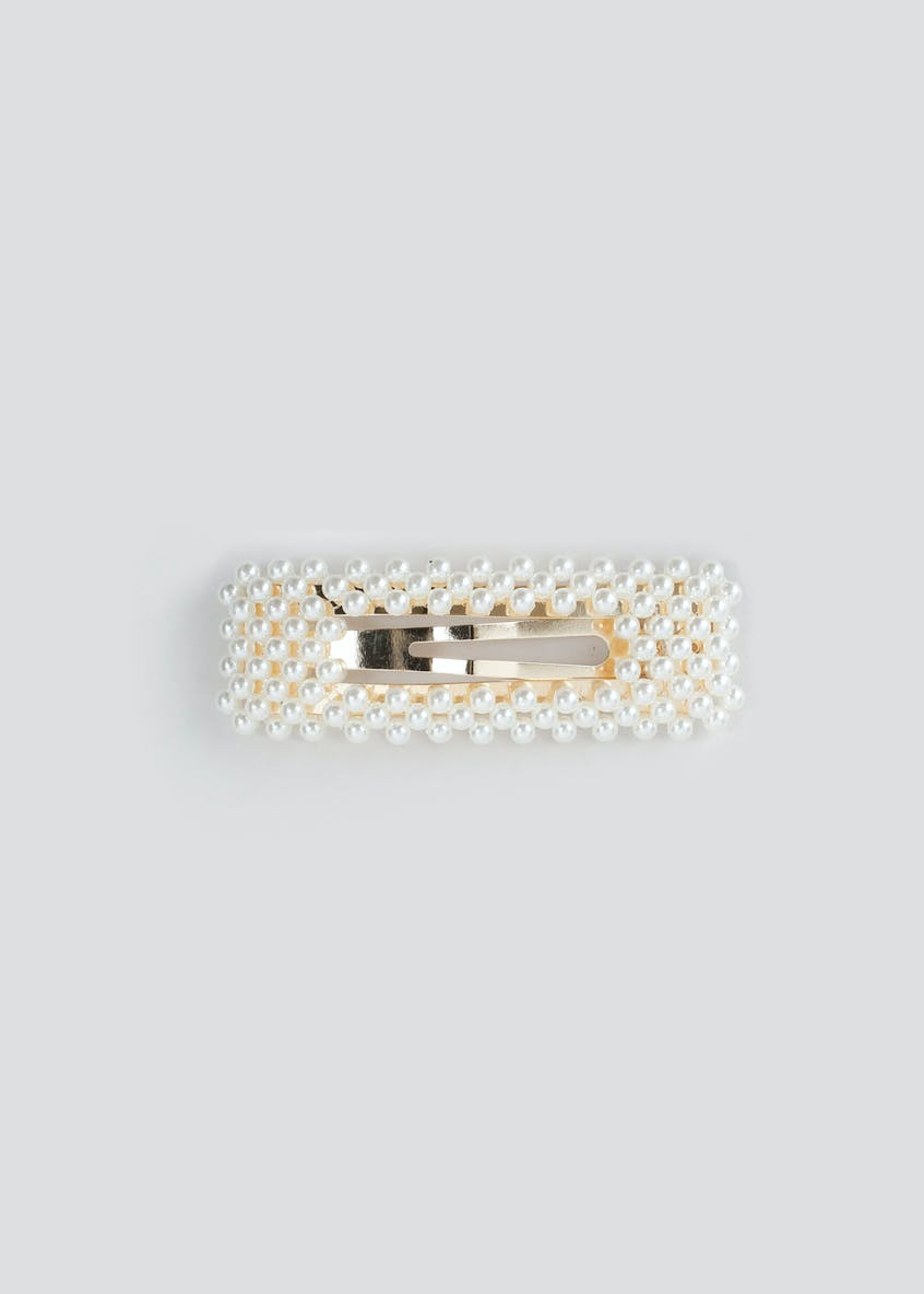 Pearl Rectangle Clip