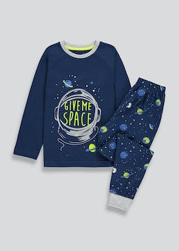 Boys Space Pyjama Set (4-13yrs)