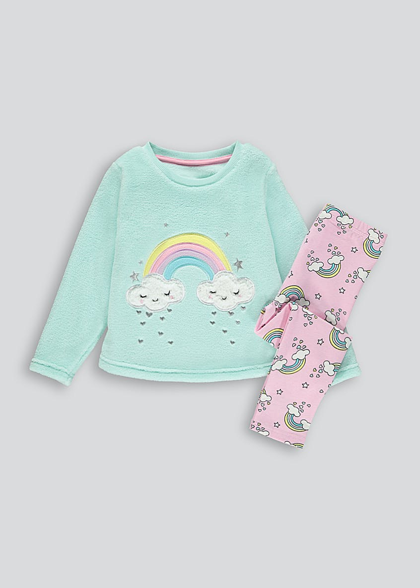 Kids Rainbow Pyjama Set (9mths-5yrs)