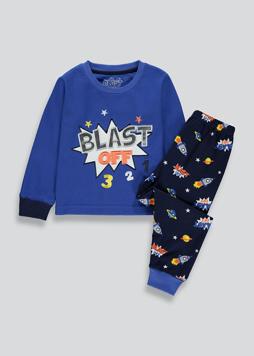 Kids Space Pyjama Set (9mths-5yrs)