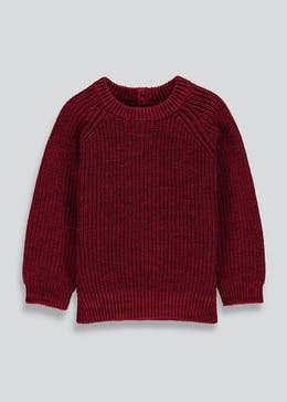 Boys Twist Knit Jumper (9mths-6yrs)