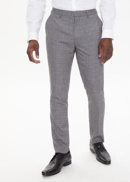 Robinson Check Skinny Fit Suit Trousers