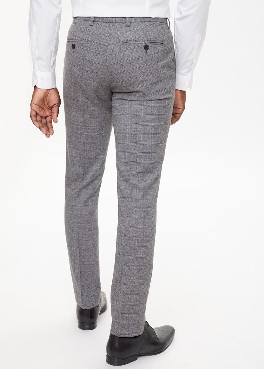 Robinson Check Skinny Fit Trousers