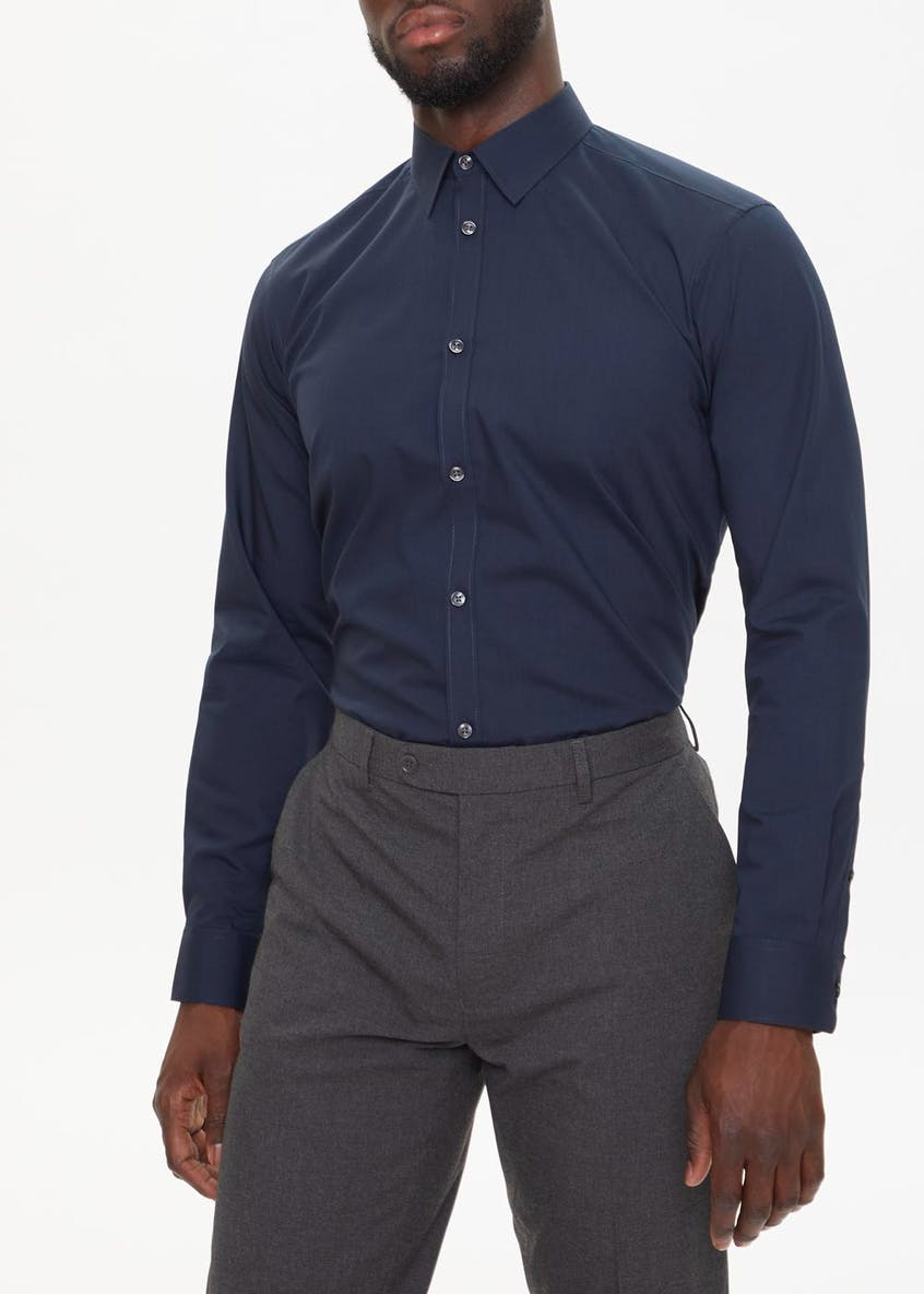 2 Pack Regular Fit Long Sleeve Shirts