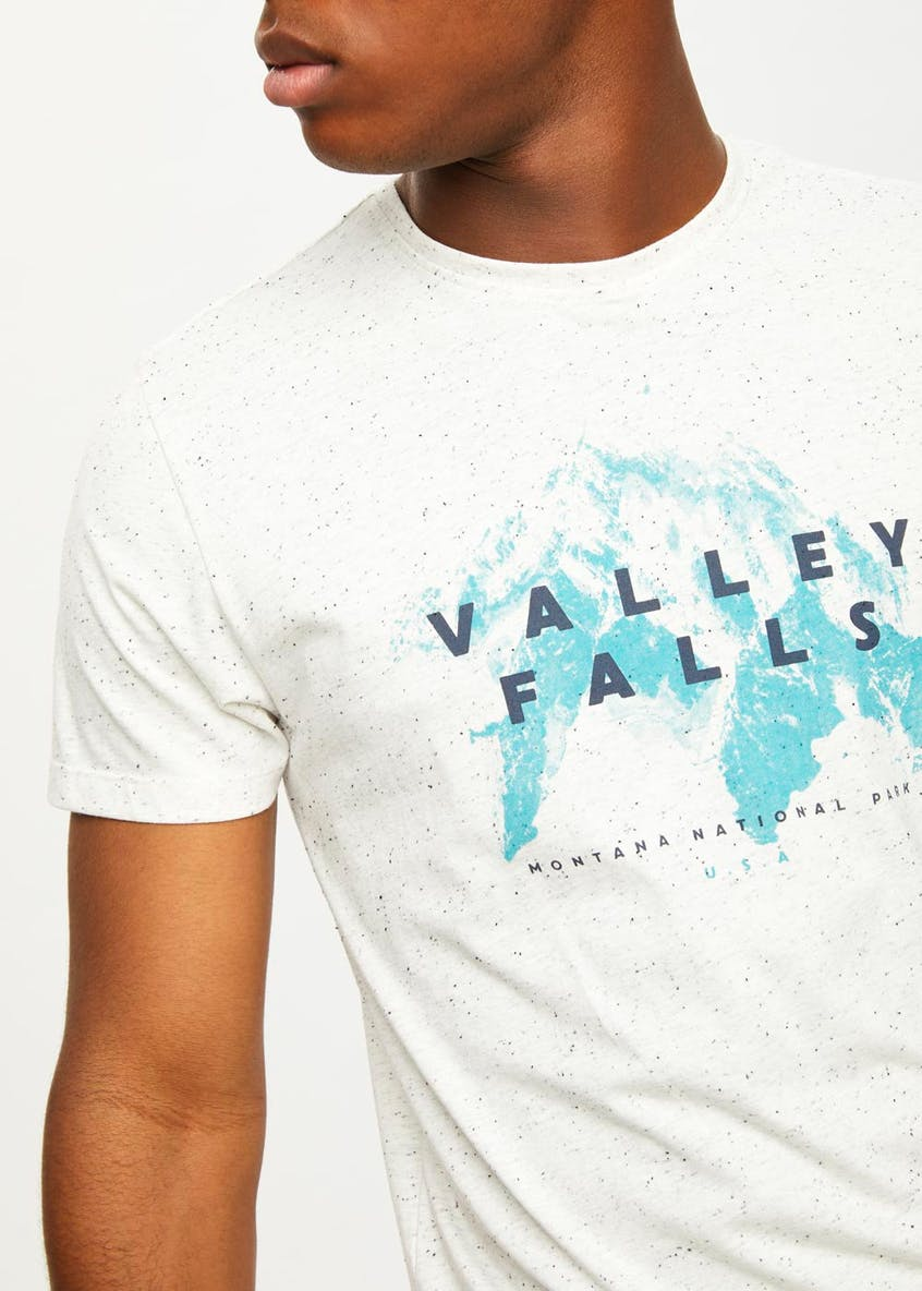 Valley Falls Print T-Shirt