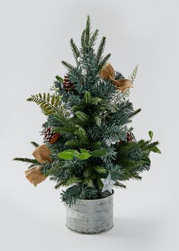 Mini Potted Christmas Tree (60cm)