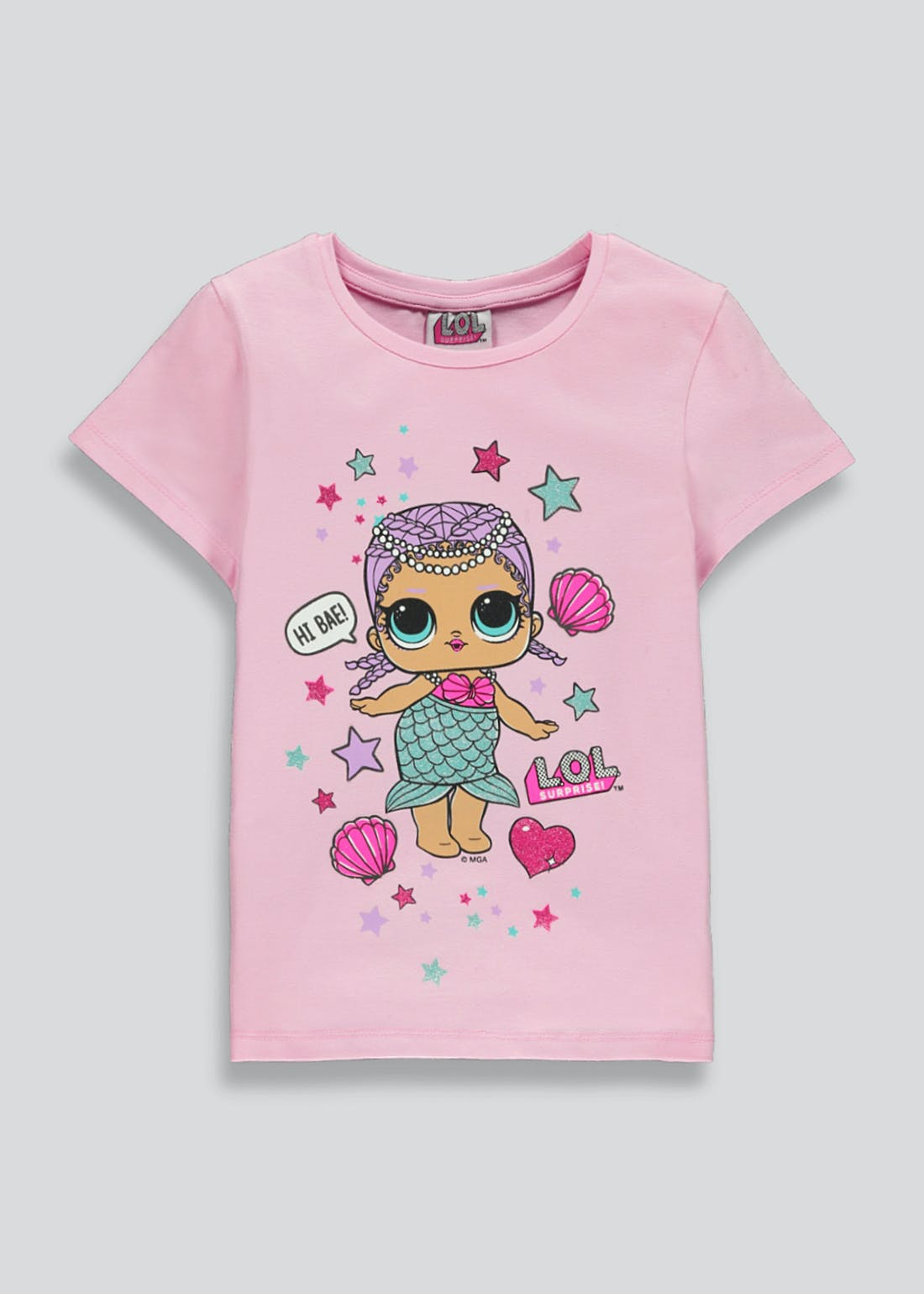 L.O.L. Surprise Mermaid Doll T-Shirt (4-10yrs)