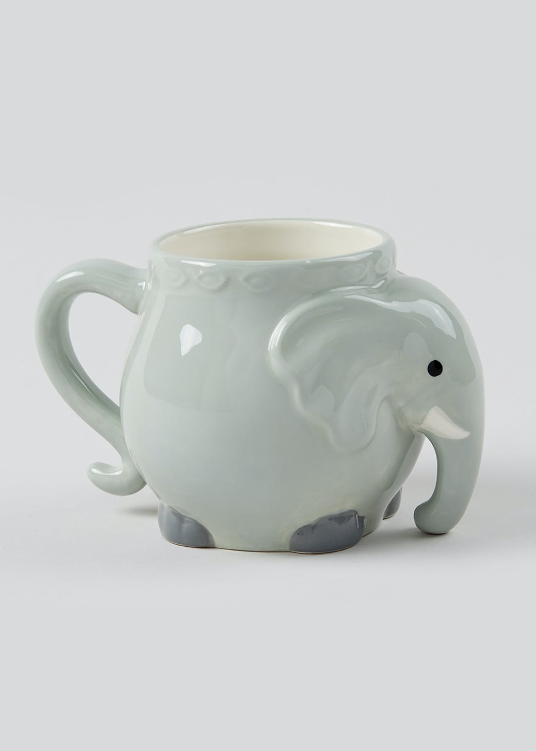 Elephant Shaped Mug (12cm x 8cm)