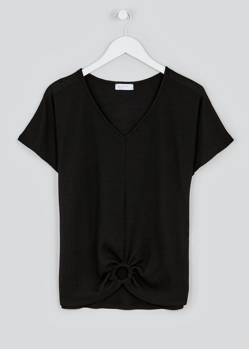 Ring Front Co-Ord T-Shirt