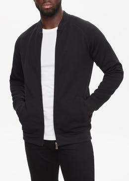 Ottoman Quilted Bomber Jacket