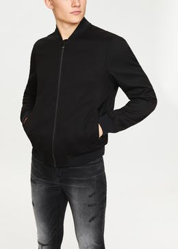 Easy Black Label Jacquard Bomber